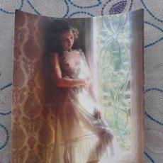 Postales: ANTIGUA POSTAL AÑOS 80 CHICA ROMANTIC PICTURES 8800N EDITORIAL C&Z A ESTRENAR*. Lote 209272590