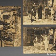 Postales: 3 POSTALES MUY ANTIGUAS * SANTA CÉCILE * (1915) - EN FRANCÉS. (SELLOS DE ALFONSO XIII.). Lote 26446237