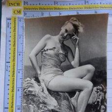Postales: POSTAL DE MUJERES. AÑOS 30 50. MUJER MODELO EN BAÑADOR. ERÓTICA SEXY DESNUDO. 631. Lote 211930511