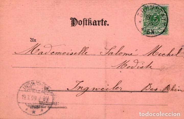 Postales: POSTAL MARIE STUART - MAX KRAUSE - BERLIN - CIRCULADA - Foto 2 - 214708843