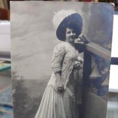 Postales: ANTIGUA POSTAL ROMANTICA TORREVIEJA ALICANTE 1913. Lote 216673147