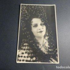 Postales: MADGA CONTI ARTISTA POSTAL FOTOGRAFICA CON DEDICATORIA AUTOGRAFA. Lote 216956688