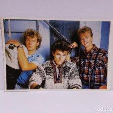 Postales: POSTAL - GRUPO MUSICAL A-HA - 1989. Lote 218438847