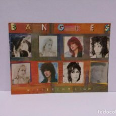 Postales: POSTAL - GRUPO MUSICAL BANGLES - DIFFERENT LIGHT - 1989. Lote 218439028