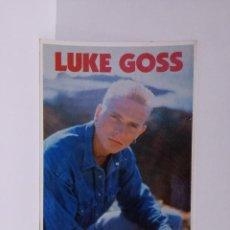Postales: POSTAL REVISTA TOP SECRETS- LUKE GOSS - GRUPO BROS - 1989. Lote 218441207