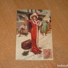 Postales: POSTAL DE SEÑORA. Lote 221275687