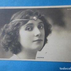 Postales: POSTAL FOTOGRÁFICA DE LA ACTRIZ DESPREZ. CIRCULADA, 1905?. Lote 221752732