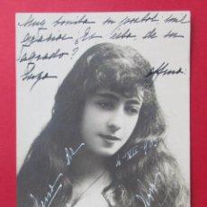 Postales: BONITA POSTAL DE UNA CHICA CON UNA LARGA MELENA. CIRCULADA EN 1903.. Lote 221807318