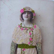 Postales: P-11616. POSTAL ROMÁNTICA BORDADA Y COLOREADA. AÑO 1906 .. Lote 222095820