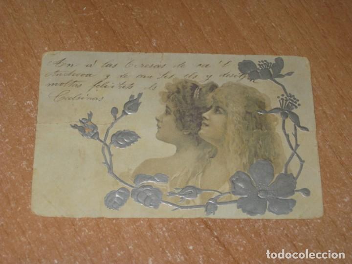 POSTAL DE MUJERES (Postales - Postales Temáticas - Galantes y Mujeres)