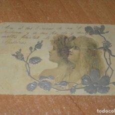 Postales: POSTAL DE MUJERES. Lote 222741145