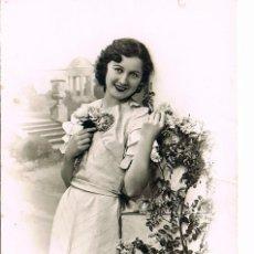 Postales: CHICA, ESCRITA EN 1944. Lote 228152745
