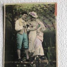 Postales: SERIE 4 POSTALES ROMÁNTICA FRANCESAS 1904-1906 PÊCHER EST UN PLAISIR AS 303. Lote 233520780