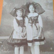 Postales: 6 POSTALES ANTIGUAS CARTE POSTALE ANIVERSARIO ENAMORADOS Y NIÑOS 1906-1948. Lote 233590895