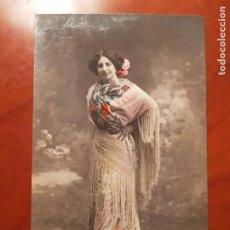 Postales: ANTIGUA POSTAL ROMANTICA ACTRIZ COUPLETISTA LA BELLA CHELITO. Lote 243244205
