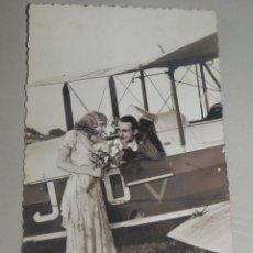 Postales: POSTAL ROMÁNTICA. PC. PARIS. 3800/2. 13,5 X 8,5 CM. ESCRITA. AÑO 1938. Lote 245387500