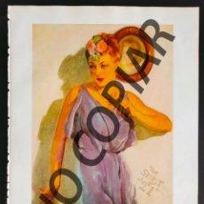 Postales: ILUSTRACIÓN DE GUY HOFF. ILUSTRACIÓN EXTRAÍDA LIBRO CONMEMORATIVO. USA. AÑO 1950.. Lote 254178010