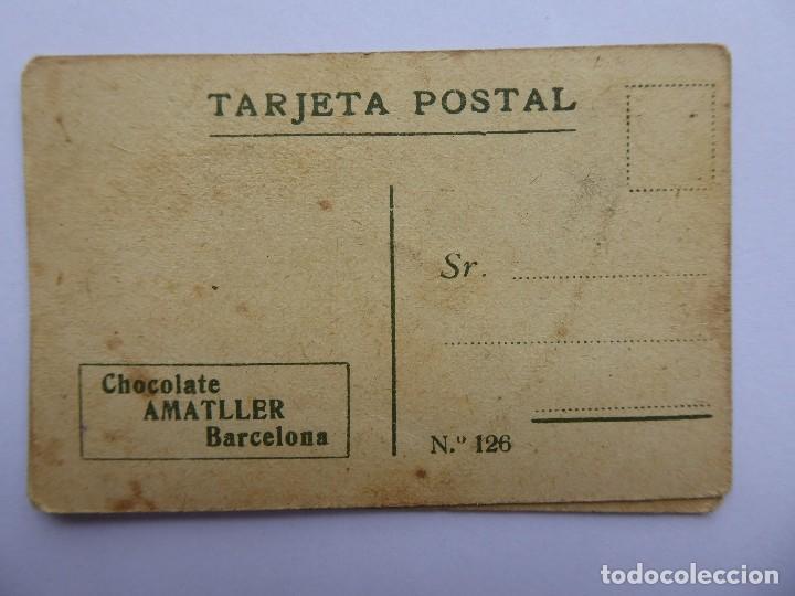 Postales: P-12649. CHOCOLATE AMATLLER. COLECCIÓN DE 37 MINI POSTALES DE MODELOS PRINCIPIOS SIGLO XX. - Foto 7 - 254564265
