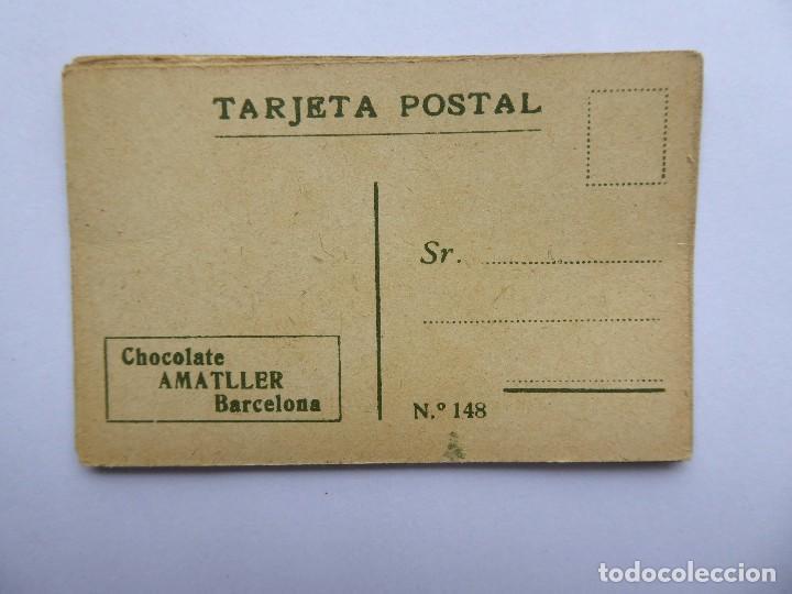 Postales: P-12649. CHOCOLATE AMATLLER. COLECCIÓN DE 37 MINI POSTALES DE MODELOS PRINCIPIOS SIGLO XX. - Foto 13 - 254564265