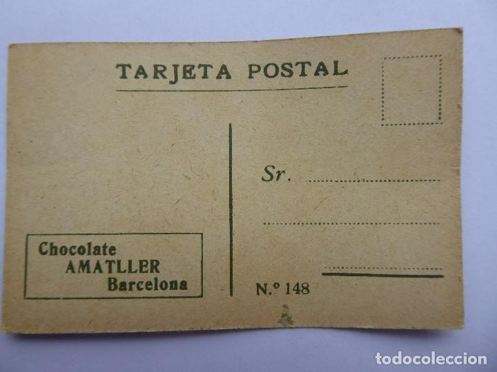 Postales: P-12649. CHOCOLATE AMATLLER. COLECCIÓN DE 37 MINI POSTALES DE MODELOS PRINCIPIOS SIGLO XX. - Foto 17 - 254564265