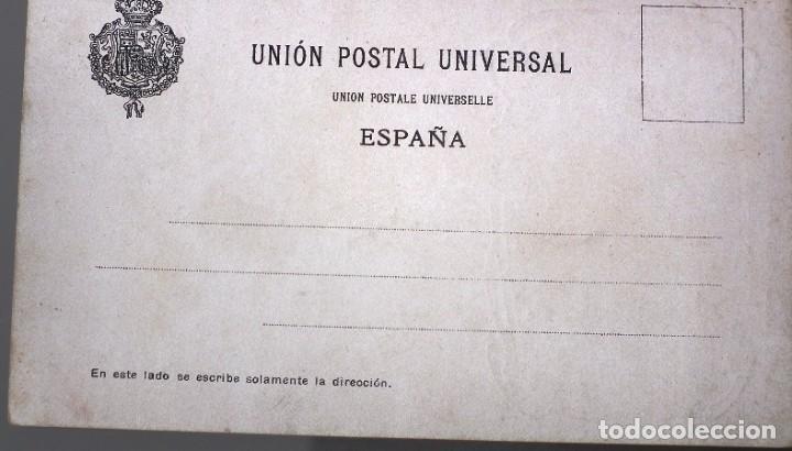 Postales: LUISA CAMPOS. Nº 66 LIT. HERMENEGILDO MIRALLES - FOTÓGRAFO DEBÁS - Foto 2 - 257720220