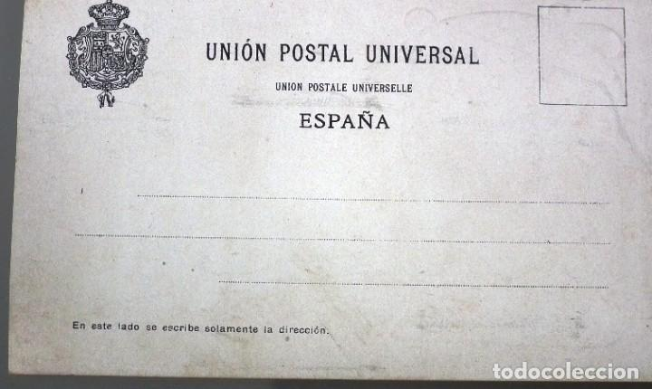 Postales: PAREJA BAILANDO Nº 53 LIT. HERMENEGILDO MIRALLES - FOTÓGRAFO PABLO AUDOUARD - Foto 2 - 257732330
