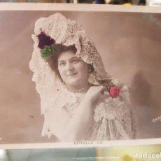 Postales: ANTIGUA POSTAL ROMANTICA ACTRIZ COUPLETISTA ESTRELLA GIL. Lote 259781700