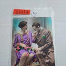 Postales: 32027 - POSTAL DE DE HOMBRE Y MUJER. Lote 261317050