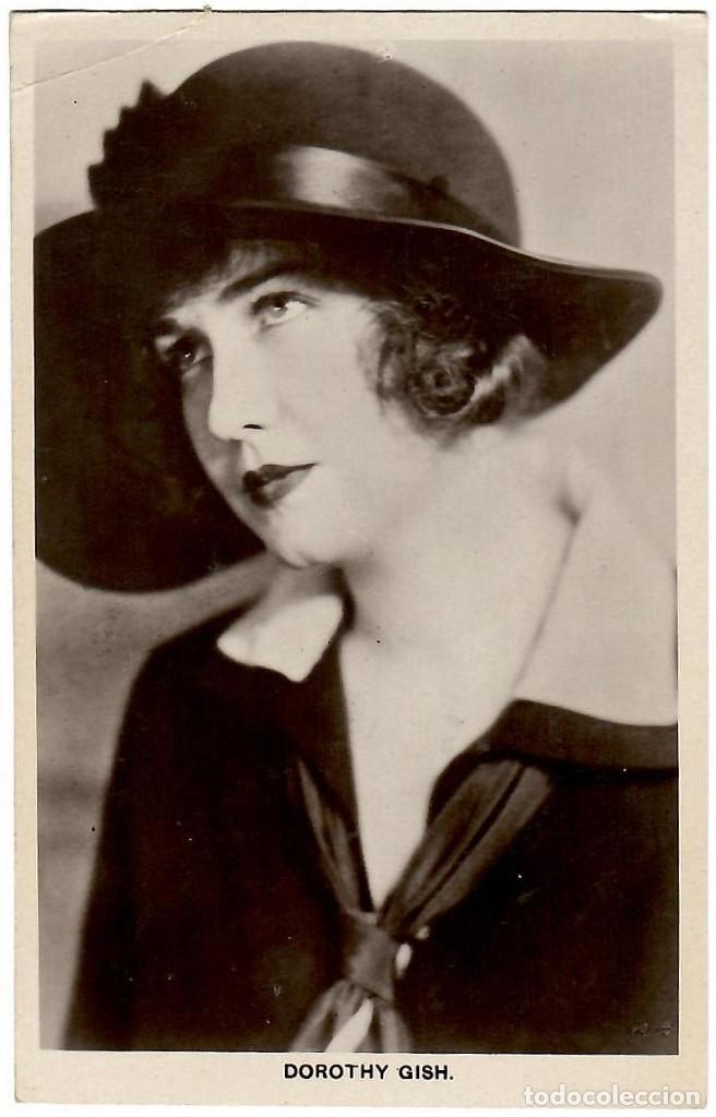 DOROTHY GISH, ACTRIZ DE CINE ESTADOUNIDENSE (1898.1968). POSTAL BRITÁNICA ANTIGUA. (Postales - Postales Temáticas - Galantes y Mujeres)