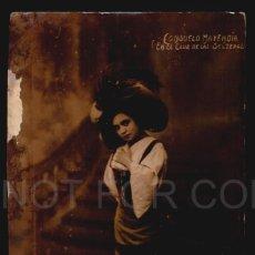 Postales: CONSUELO MAYENDIA EN EL CLUB DE LAS SOLTERAS ZARZUELA TARJETA POSTAL CA 1912 ARGENTINA. Lote 268902629