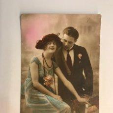 Postales: POSTAL FRANCESA MODERNISTA. QUE VIVA EL AMOR.. EDIC. PC, PARIS NO.240, (H.1920?) DEDICADA.. Lote 269827218