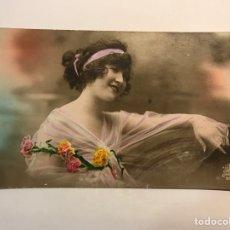 Postales: POSTAL FRANCESA MODERNISTA. LOS LOCOS AÑOS VEINTE, EDIC. LPV PARIS NO.506, (A.1921). Lote 269828908