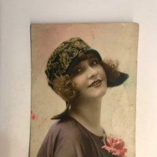 Postales: POSTAL FRANCESA MODERNISTA. LOS LOCOS AÑOS VEINTE. EDIC. LEO NO.271, PARIS (A.1923) DEDICADA. Lote 269831143