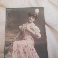 Postales: ANTIGUA POSTAL, BERANE DE 1904 SELLADA Y MATASELLADA. Lote 278232458
