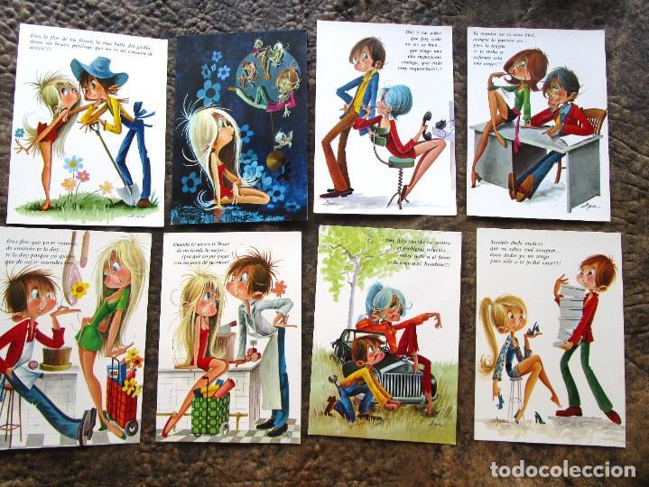 Postales: lote de 35 postales de asun galanes parejas c y z postal sin circular tipo ferrandiz constanza .... - Foto 5 - 278563658