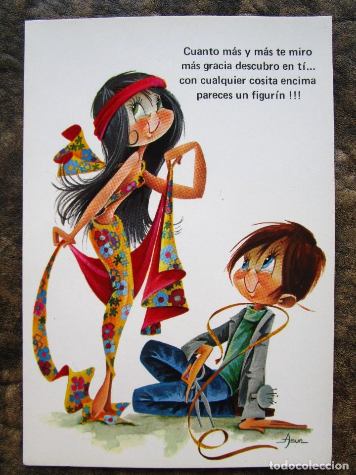 Postales: lote de 35 postales de asun galanes parejas c y z postal sin circular tipo ferrandiz constanza .... - Foto 7 - 278563658