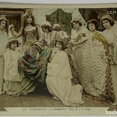 Postales: SA MARRAINE LA PARANT POUR LE BAL. (SU MADRINA LA ADORNA PARA EL BAILE) CENDRILLON. ART DE DECÓ.. Lote 287800523
