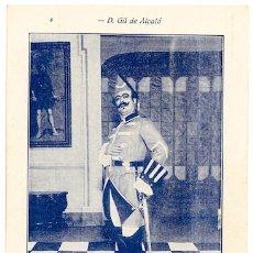 Postales: PABLÓ GORGÉ EN DON GIL DE ALCALÁ [BADOSA] TEATRO NOVEDADES BARCELONA 1932 PENELLA ZARZUELA ÓPERA. Lote 288097363