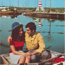 Postales: POSTAL ROMANTICA, ENAMORADOS – EDITA CYZ 7137/31C – ESCRITA. Lote 288101828