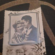 Postales: ANTIGUA POSTAL FOTOGRAFÍCA, GALANTE. Lote 288503528