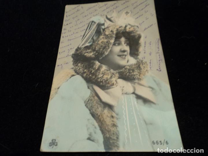 ANTIGUA POSTAL ED. SBW - S B W 665/6 ZURICH, 1904 (Postales - Postales Temáticas - Galantes y Mujeres)