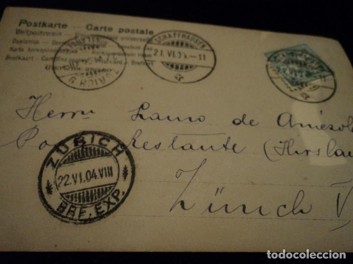 Postales: ANTIGUA POSTAL ED. SBW - S B W 665/6 ZURICH, 1904 - Foto 2 - 288591643