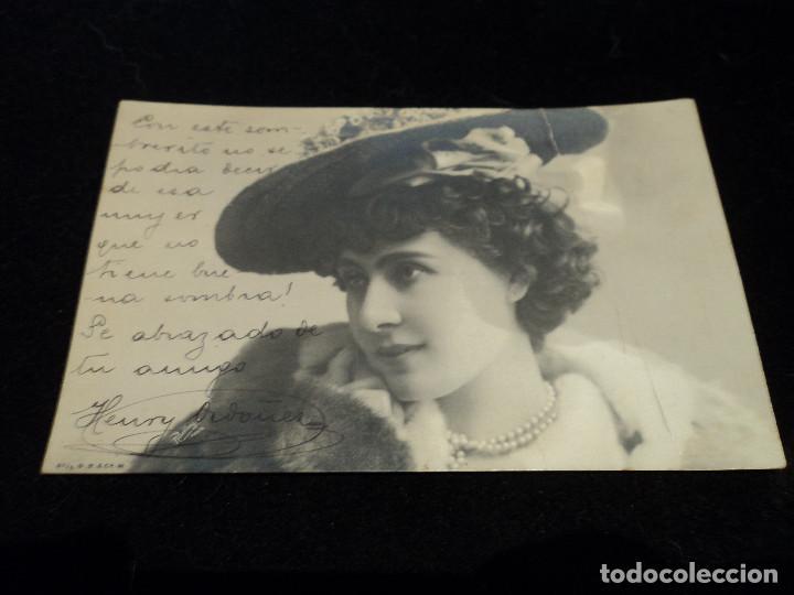ANTIGUA POSTAL 57/4 GR& Cº W, ZURICH, 1904 (Postales - Postales Temáticas - Galantes y Mujeres)