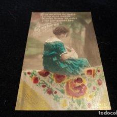 Postales: ANTIGUA POSTAL SERIE CANTARES. PROPIEDAD 499/2 SIN USAR. Lote 288592933