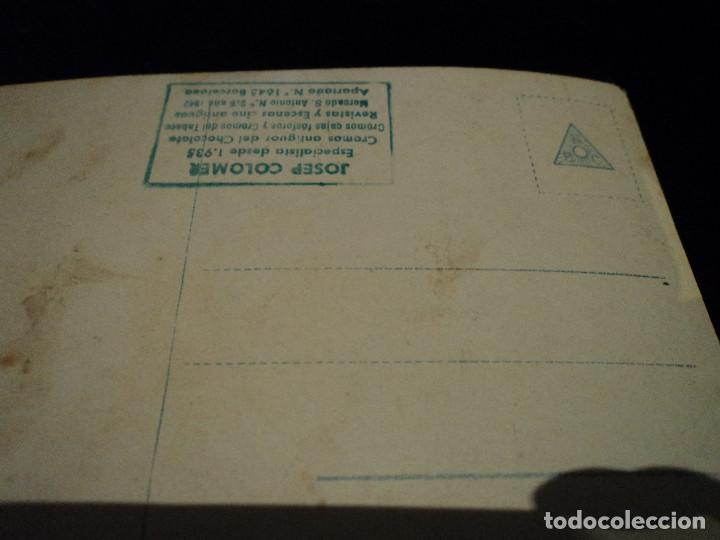 Postales: POSTAL ANTIGUA BNC JOSEP COLOMER, SIN CIRCULAR, CHICA - Foto 2 - 288594023