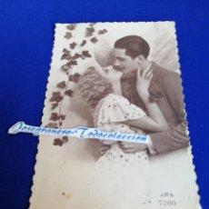 Postales: POSTAL 1935 PAREJA ROMANTICA. Lote 294432078