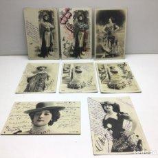 Postales: COLECCION DE POSTALES LA BELLA OTERO - ARTISTA. Lote 296706408
