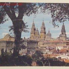Postales: 2080 - SANTIAGO DE COMPOSTELA - LA CATEDRAL DESDE EL PASEO DE LA HERRADURA . NO CIRCULADA .. Lote 5858581