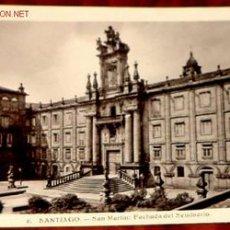 Postales: ANTIGUA POSTAL DE SANTIAGO DE COMPOSTELA - SEMINARIO SAN MARTIN . Lote 864211