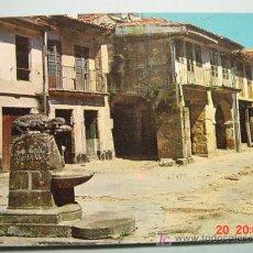 Postales: 1078 MUROS A CORUÑA PLAZA DE LA PESCADERIA VIEJA COSAS&CURIOSAS. Lote 3440789